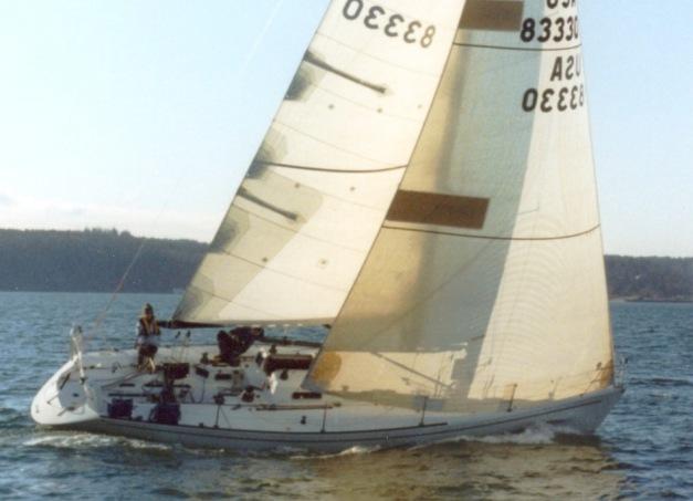 Tripp 40 Sailing 2