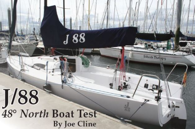 J88 Boat Test 48 North pic