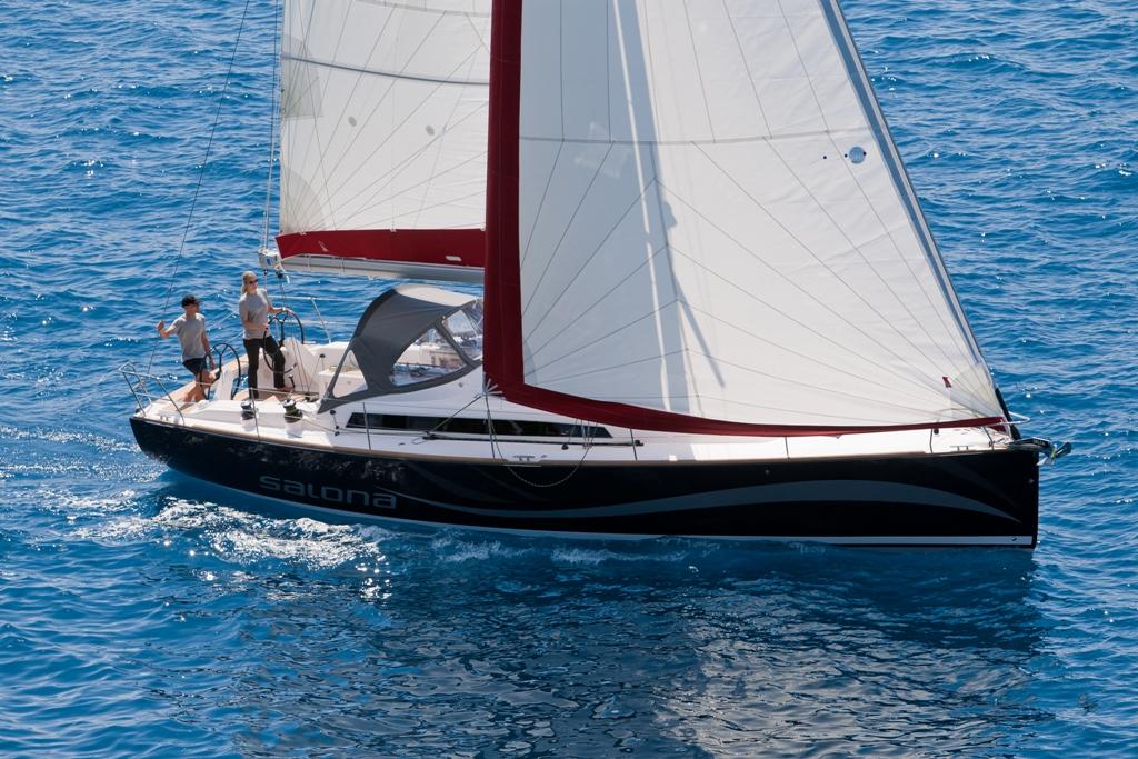 Salona 41 Test Sail & Review | Sail Northwest