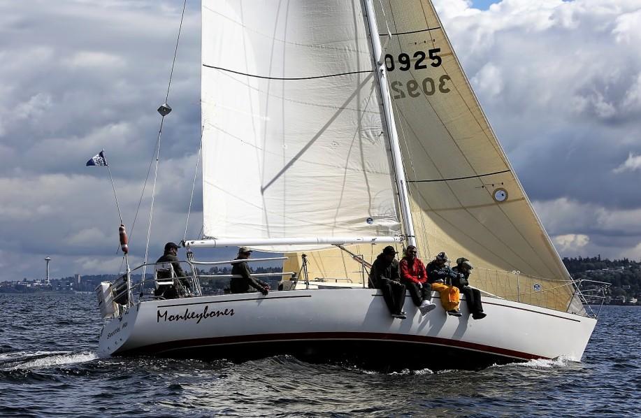 sailing-upwind-genoa | Sail Northwest